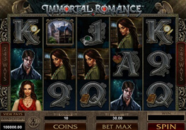 tragaperras Inmortal Romance