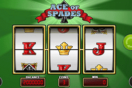 Ace of Spades tragamonedas
