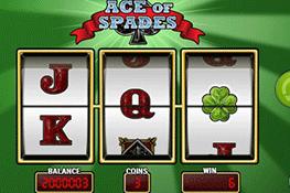 tragaperras Ace of Spades