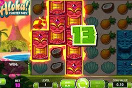 Aloha! Cluster Pays tragamonedas