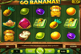 tragaperras Go Bananas