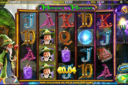 Merlin's Millions tragamonedas