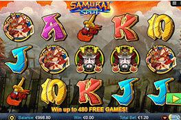 Samurai Split tragamonedas