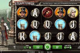 tragaperras Steam Tower