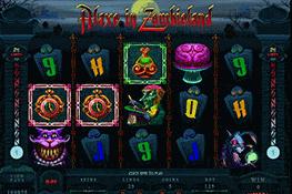 Alaxe in Zombieland tragamonedas