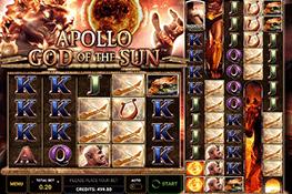 Apollo God of the Sun tragamonedas