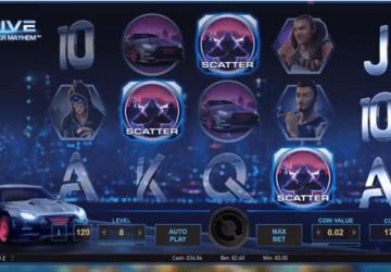 Slot Drive: Multipier Mayhem