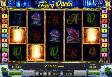 Tragaperras Fairy Queen