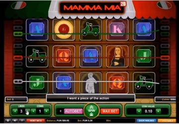 Tragaperras Mamma Mia 2D