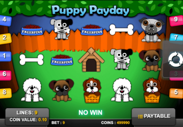 Slot Puppy PayDay