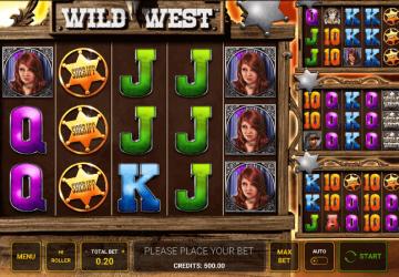 Tragaperras Wild West