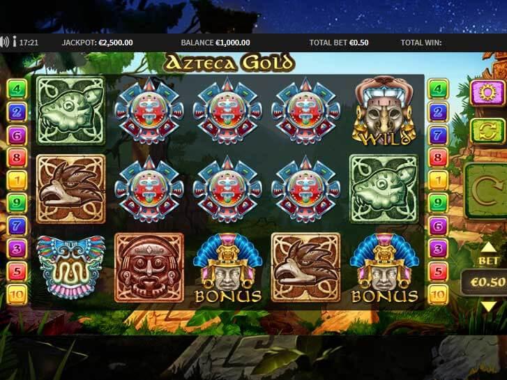 azteca gold iframe