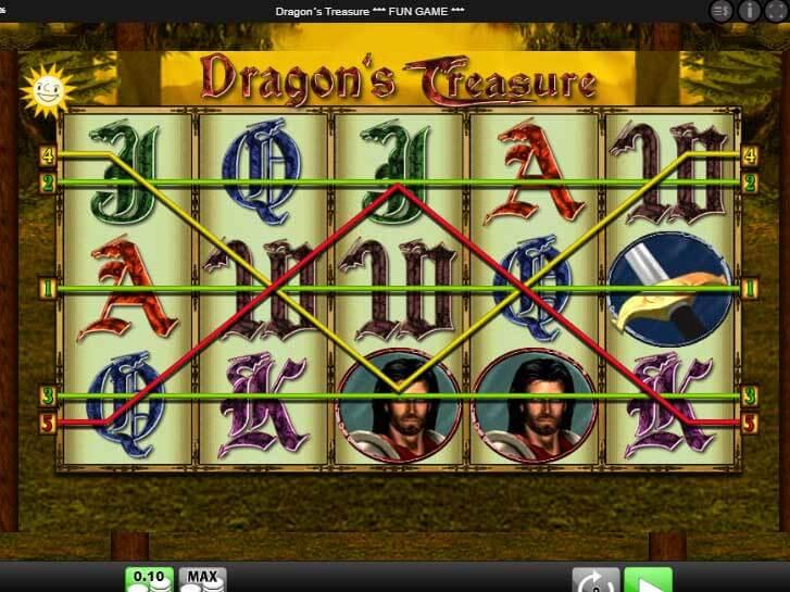 dragons treasure iframe
