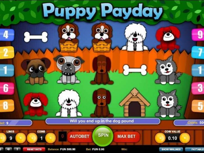 puppy paydays